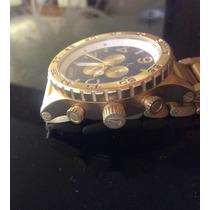 Relógio Nixon Chrono Dourado Melhor Preço Do Mercado Livreli