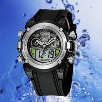 Relógio De Pulso Ohsen Digital E Analógico Esporte Ad0721