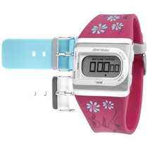 Relógio Mormaii Digital Esportivo Troca Pulseiras Fzaq/8k