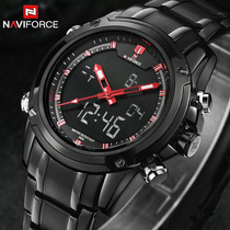 Relógio Masculino Analógico E Digital Naviforce Frete Grátis