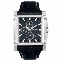 Relógio Orient Cronógrafo Gbscc015 - Garantia E Nf