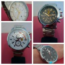 Relógios Kit C 04 Pronta Entrega Marcas Variadas Barato