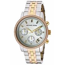 Relógio Michael Kors Mk5650 Prata Dourado Rose Frete Grátis