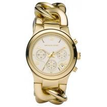 Relógio Michael Kors Mk3131 Gold Corrente Lançamento