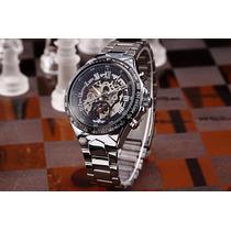 Relógio Winner Skeleton Automático Modelo Novo Super Oferta