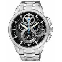 Citizen At2060-52e Chronograph Eco Drive 3d Dial