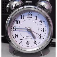 Relógio Despertador Analógico Com Som Alto - 2 Sinos