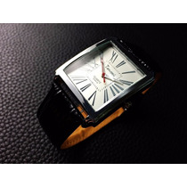 Relógio Masculino De Luxo Quadrado Quartzo - Pronta Entrega