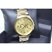 Relógio Feminino Com Strass Na Pulseira Rose Dourado E Prata