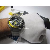 Relógio Orient Seatech Solar Titanium Mbttc014 De Mergulho