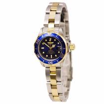 Relógio Invicta 8942 Prata Banhado A Ouro Feminino Original