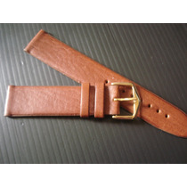 Pulseira Couro 20 Mm Relógio Luxo Legítimo Sem Costura Havan