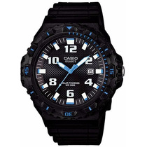 Relógio Casio Mergulho Mrw-s300h 1b2v Bat. Solar Wr-100 M P