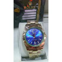 Relógio Milgauss Dourado Azul Safira Acab. Eta Cx.manual 12x