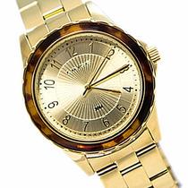 Relógio Lince Dourado Feminino (orient) Lrgj037l Prova Dágua