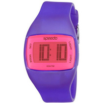 Relógio Feminino Speedo Digital Esportivo Lilas Novo