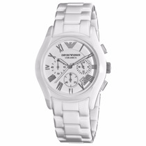 Relógio Emporio Armani Ar1403 Cerâmica Lindo Frete Grátis