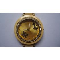 Relógio Borboleta Feminino