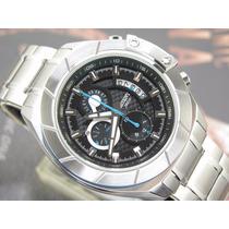 Relógio Orient Cronógrafo Quartzo Calendario Aço Mbssc064