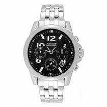 Relógio Magnum Cronógrafo Ma33031t Preto Caixa Aço