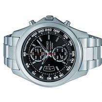 Relógio Seiko Masculino Chronógraph 100 M Inox 7t94al/1 P1sx