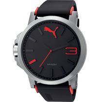 Relógio Puma Masculino Vermelho Original 12xs/juros Sedex
