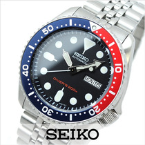 Seiko Diver Pepsi Jubilee Skx009k2 200mts - Frete Grátis!