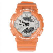 Relógio Casio G-shock Laranja Ga-110sg-4adr