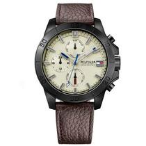 Relógio Tommy Hilfiger Masculino Couro Marrom - 1791164