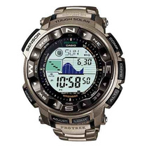 Relógio Casio Protrek Prg 250t Titaniun- Buss-term-bar