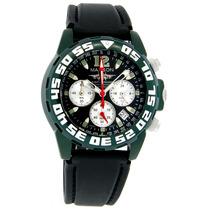 Relógio Masculino Alumínio Verde - Maxson - Flight Commander