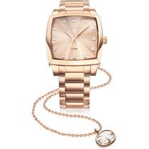 Relógio Technos 2036llx/4t - Feminino - Rose - 12x Sem Juros