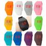 Relógio Led Colorido Touch Screen Importado