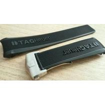 Pulseira Tag 100 Slr Borracha 24mm Completa Fecho Deployant