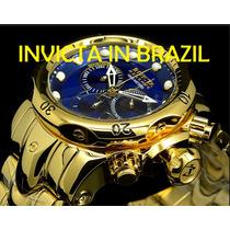 Invicta 14504 Original É Todo Banhado Ouro Polido 18k-fotos