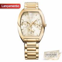 Relógio Technos Feminino Elegance Swarovski 6p29agf/4x