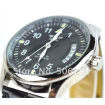 Relógio Automático Winner - Pilot Series Black