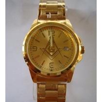 Relógios Maçom Maçonaria Maçônico Dourado Pronta Entrega