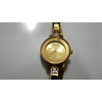Relógio Citizen Quartz Feminino Folheado A Ouro