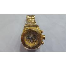 Relógio Invicta Zeus Bolt Skelecton Dourado (sedex Gratis)