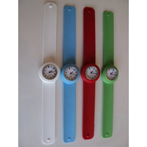 4 Relógios De Pulso, Silicone, Importado 120,00 Frete Grátis