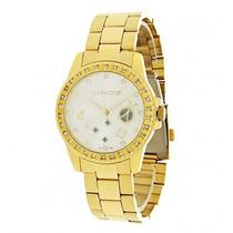 Relógio Feminino Lince Com Detalhes E Pedras Lrg4046l S1kx