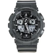 Relógio Casio G-shock Ga-100cf-8a Resist. A Choques / 200m