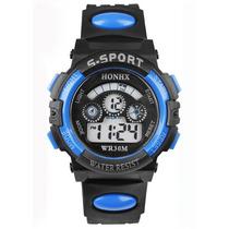 Relógio Unissex S-sport (azul E Preto) Rlcm Vendas