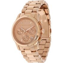 Relógio Michael Kors Mk5128 Rosé Gold Original Garantia*