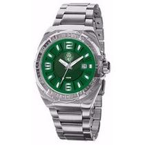 Relógio Technos Palmeiras Oficial Pa2315al/v Garantia E Nf