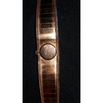 Relogio Feminino De Ouro(18k) Antiva 17 Rubis