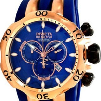 Relógio Invicta 10831 Venom Reserve Azul E Rose 12x S Juros