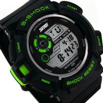 Relógio Skmeis S-shock Digital Masculino Importado
