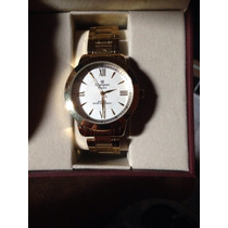 Relógios, Marca Champion, Dourado, Um Ano De Garantia